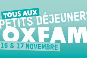 Les petits déjeuners d'Oxfam 16&17 novembre 2019
