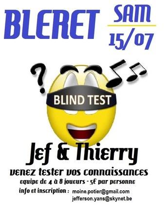 Fête de quartier à Bleret - BBQ, Blind test