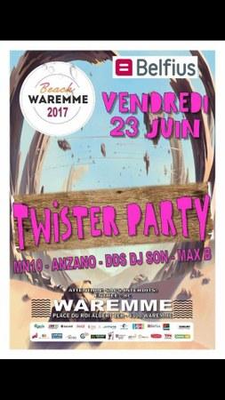 Beach Waremme - Twister party