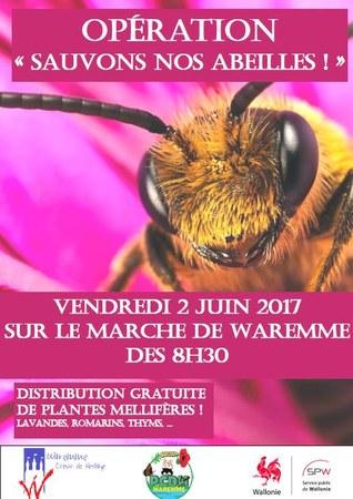 "Opération ""Sauvons nos abeilles"""