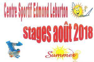 Stage du Centre sportif pour les 3 - 6  et les 6 - 15 ans