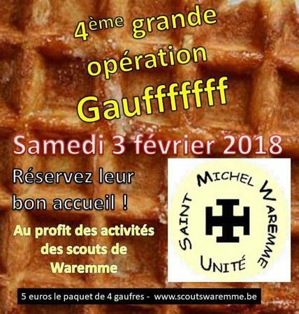 4ème Opération Gaufffffff