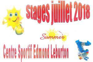 Stage du Centre sportif pour les 3 - 6  et les 6 - 12 ans
