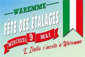 """Fête des étalages - """"L'Italie s'invite à Waremme"""""""