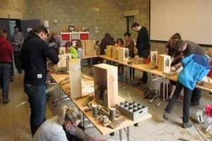 Atelier de fabrication de nichoirs à insectes