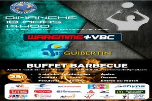 Volley-ball  + buffet barbecue