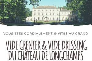 Vide grenier & vide dressing du Château de Longchamps