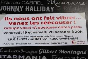 """Concert du groupe vocal """"A quelques notes près..."""""""