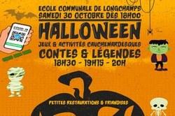 """""""Halloween"""" Jeux, activités cauchemardesques, contes et légendes, repas"""