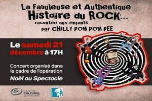 La Fabuleuse et Authentique Histoire du Rock racontée aux enfants