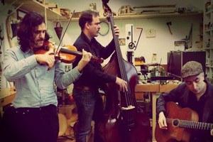 """Tcha Limberger Trio"" concert jazz manouche"