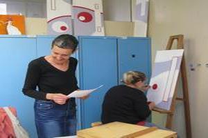 Exposition des oeuvres des élèves de l'Ecole d'Arts et de Créativité