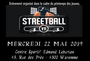 """Streetball""  Tournoi de basket 3 contre 3"