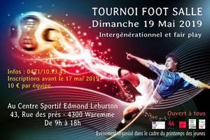 Tournoi foot salle intergénérationnel et fair play