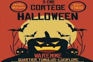 3ème Cortège Halloween du quartier du Tumulus et Luciflore