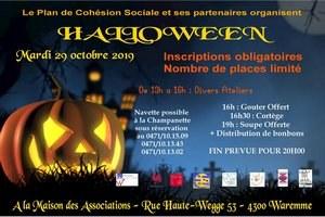 Halloween org. par le Plan de Cohésion Sociale