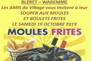 Souper aux moules ou boulets à la liégeoise