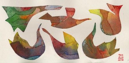 """""""Les aquarelles de Paul Xhrouet"""" Exposition"""